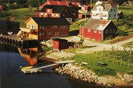 This is the old ferry place at Loftesnes.