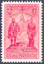 On 28 March, 1946 the Norwegian Post Office had the memorial stamp Wings for Norway printed. Little Norway was the name of the training camp of the Norwegian Air Force in Canada during the Second World War. The camp was opened in November, 1940 near Toronto, and was in 1943 moved to Muskoka, approximately 110 kilometres north of Toronto. In the autumn of 1944 the training of pilots was moved to the air base Winkleigh in Devon, England.