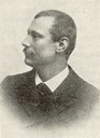 Jens Kvåle (1863-1949), editor of 'Sogns Tidend' 1903-1941. In the spring of 1946, he suffered a stroke, and died on 26 April, 1949, 85 years old.