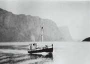 The M/S <i>Telma,</i> of Hjønnevåg , 40 feet. She left in October, 1941, with 11 persons. Skipper and engineer was Andreas Geiterøy. A storm from the north-west came upon them, a wave capsized the boat, half filled it with water, and damaged the wheelhouse. After they ran aground on a reef near Sanday on the Orkneys, they were saved. Andreas was lost the year after with the Feiøy.