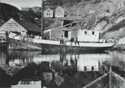 The M/K <i>Stølsgut</i> from Stølen was a magnificent boat of almost 60 feet. After a dramatic attempt with a different vessel, the <i>Stølsgut</i> in October, 1941, left from Bulandet with Olai Hillersøy as skipper. 21 persons were on board, among them two runaways from Ulven who had death sentences hanging over them. After 24 hours they were across safely. The boat was later lost near Shetland.