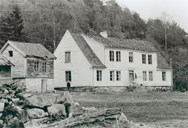 The house where the missionary Hans Schreuder was born on 18 June, 1817, built in the early 18th century. The picture dates from about 1910. In 2001, both houses have been completely renovated.