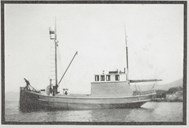 <p>The fishing boat &quot;Flink&quot; (registration # SF 7 S) was fishing basking shark in the spring of 1940. The boat put out to sea with five men on&nbsp; 26 May, and the crossing to Shetland took 53 hours. The five men were: Jakob Bakke, Bergen, the brothers Bernt and Meinart Eide, Selje, Meinart Hjertenes, Selje and Arthur Torheim.</p>