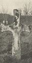 "The Olaf cross is about two metres high and about 1.25 metres from tip to tip of the cross arms. The four ""armpits"" are nicely formed as open arches."